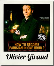 How to become parisian - Olivier Giraud